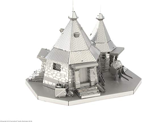 Fascinations Metal Earth Harry Potter Metal Earth Hagrid's Hut 3D Metal Model Kit