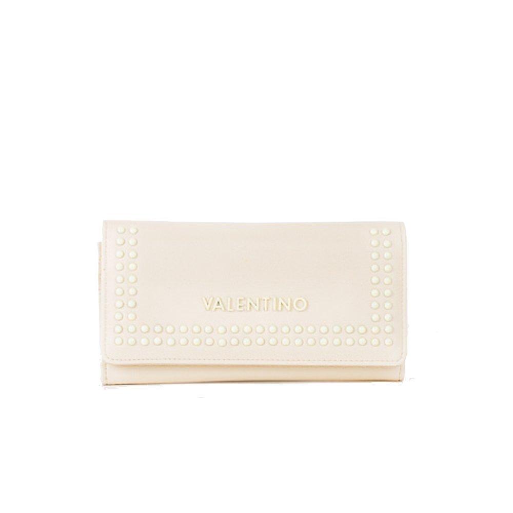 Valentino - Monedero marfil Off White L 19,5cm H 10,5cm W ...