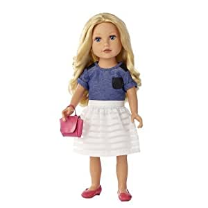 Amazon.com: Journey Girl Meredith Doll 18 Inch Blond Blue