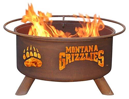 University of Montana Portable Steel Fire Pit ()