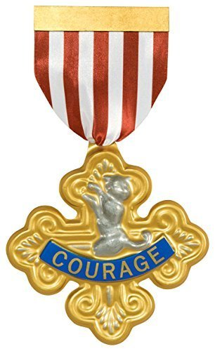 Wizard of Oz Cowardly Lion-Badge of Courage, 75th Anniversary Edition by Rubie's