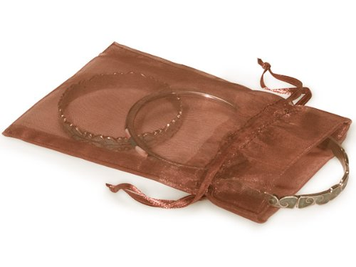 Copper Organza Bags 4x6