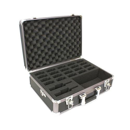 Williams Sound System Carry Case with Shoulder Strap for 2x FM/IR Transmitter/Up to 20 Receivers and Accessories by Williams Sound