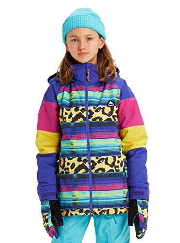 (Burton Girls' Hart Jacket, Medium, Leopardy Cat Multi, X-Small)