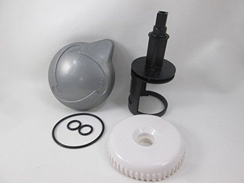Cal Spa Diverter Valve Kit Stem O-Rings Cap Teardrop Handle Hot Tub Video How To by American Spa Parts