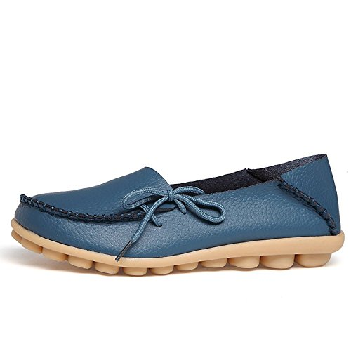 century-star-womens-fashion-leather-lace-up-driving-loafer-flats-slipper-boat-shoes-moccasin-dark-bl