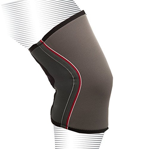 Fitoby Athletic Knee Sleeve Support, Best Compression Joint Brace for Man & Woman, Protection While Exercise, Weightlifting, & Powerlifting Crossfit Workout
