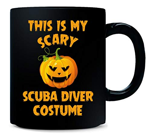 This Is My Scary Scuba Diver Costume Halloween Gift - Mug -