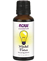 Now Foods Mental Focus Oil Blend, 1 Ounce