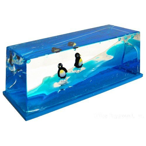 Star Magic Liquid Wave Paperweight (Penguin)