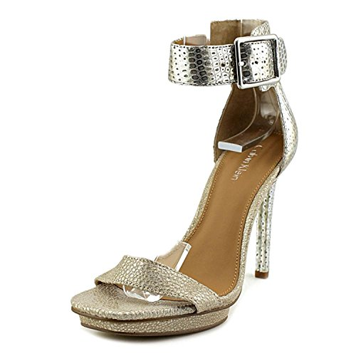 439e45525de4 Galleon - Calvin Klein Womens Vable Open Toe Ankle Strap Classic ...