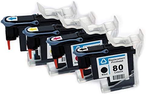 Compatible con el cabezal de impresión HP No. 80, adecuado ...