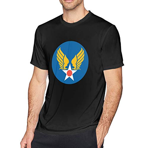 US Army Air Corps Hap Arnold Wings Men's Short Sleeve Tshirt Black