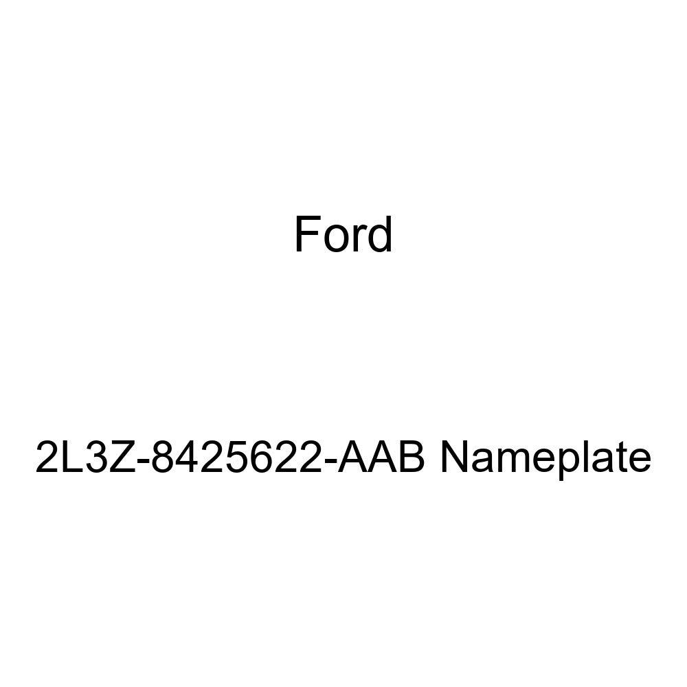 Genuine Ford 2L3Z-8425622-AAB Nameplate
