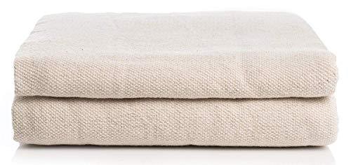 Simpli-Magic 9'x12' 79070 Canvas Drop Cloth (Size: 9' x 12') Ideal for All Purpose Use