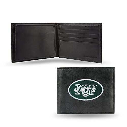 ON Inches Themed Leather Wallet 5 X Football 4 5 Cowhide Mens 4 NFL Jets rHXrwq