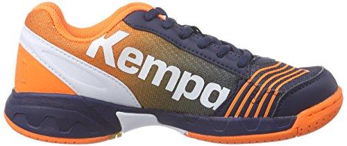 Kempa 200844903 - Zapatillas, Infantil Azul (Marine/Orange/Blanc)