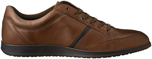 ECCO Uomo Coffee55738 Cocoa Marrone Brown Stringate Scarpe Indianapolis UqnZwU6z
