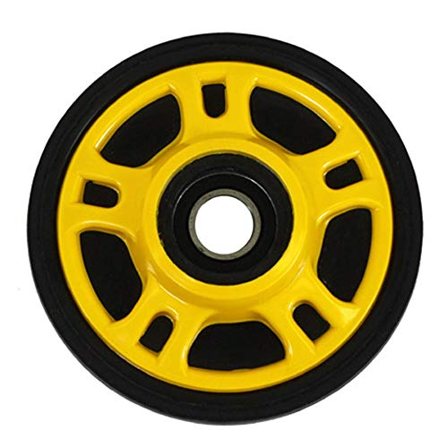 Idler Wheel - 5.63in. x 20mm - Yellow 2010 Arctic Cat Bearcat 570 Long Track Snowmobile
