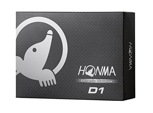 Honma D1 Dynamic Distance Golf Balls 1 Dozen White