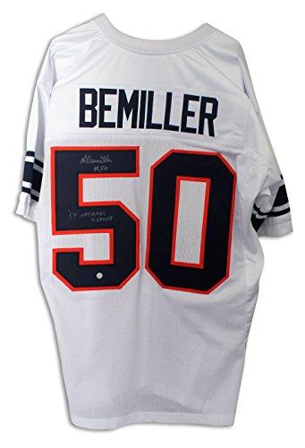 Al Bemiller Syracuse University White Jersey Inscribed