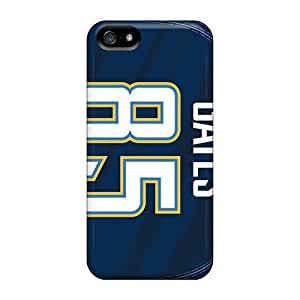 Excellent Iphone 5/5s Case Tpu Cover Back Skin Protector San Diego Chargers