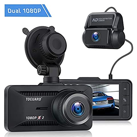 TOGUARD Both 1080P Dual Dash Cam Front and Rear Dual Lens in ... - Sale: $67.99 USD (15% off)