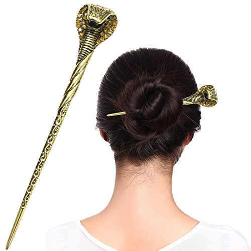 (Fashion & Lifestyle Hair Decor Chinese Traditional Style Hair Sticks Shawl Pins Picks Pics Forks for Women Girls Hair Updo Making Accessory 6.3