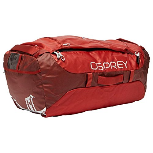 Osprey Packs Transporter 95 Expedition Duffel, Ruffian Red, One ()