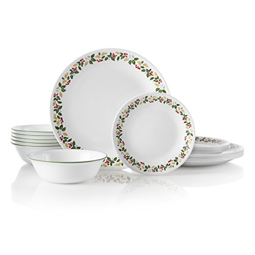 Corelle 18-Piece Service for 6, Chip Resistant,