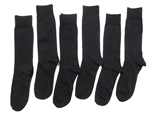 Black Dress Socks - 9
