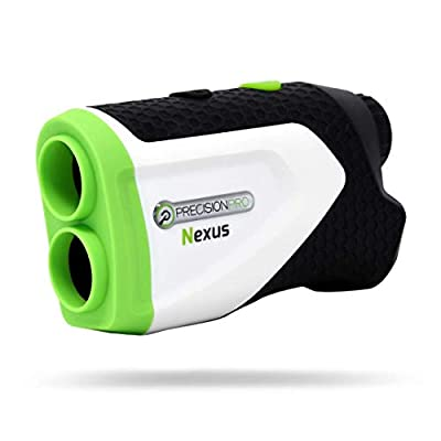 Precision Pro Golf, Nexus Golf Rangefinder, Laser Golf Rangefinder, 400 Yard Range, 6X Magnification