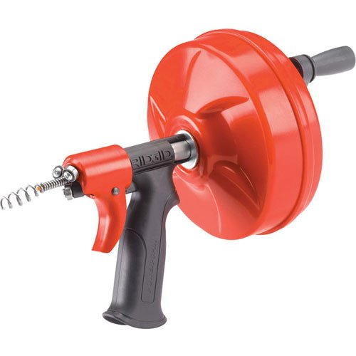 RIDGID 41408 Power Spin with AUTOFEED, Maxcore Drain Cleaner