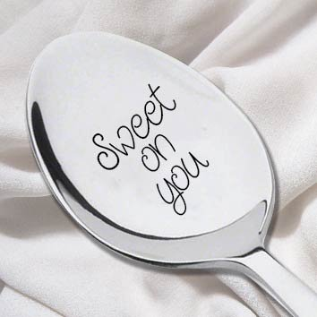 Amazon.com | Sweet On You Spoon-Fetch Gifts for Her- Unique Gift for ...