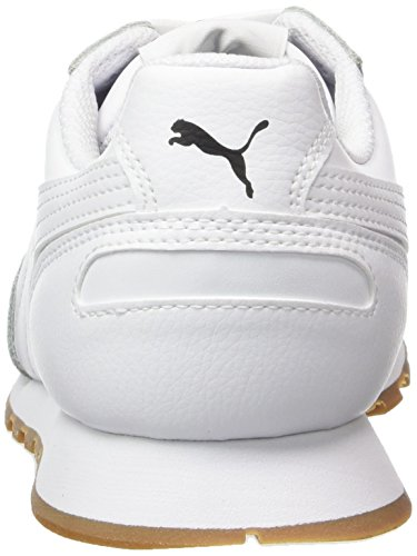 Runner Puma Full white Sneakers St Basses Blanc Mixte Adulte L white w7rw65xq