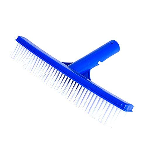FOONEE 10 Inch Pool Brush, Manual 360 Pool Brush Hard Nylon...