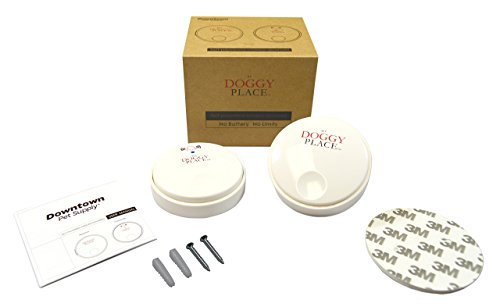 My Doggy Place - Dog Pet Children Toddler, Wireless Doorbell, No Batteries Required, Electronic Chime Bell, Potty Training, for Small, Medium, Large Dogs (One Transmitter - One Receiver) by My Doggy Place (Image #2)