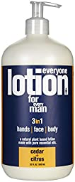 EO Products EveryOne Men\'s Lotion - Cedar And Citrus, 32 fl oz