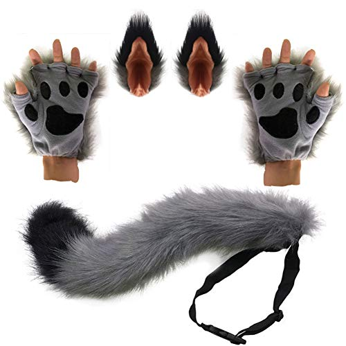Best werewolf ears and tail set