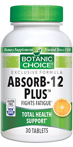 Botanic Choice AbsorB-12, 30 Tablets
