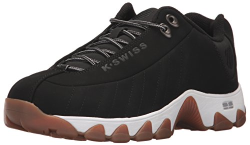 K-Swiss Men's ST329 Sneaker Black/Stingray 10 M US