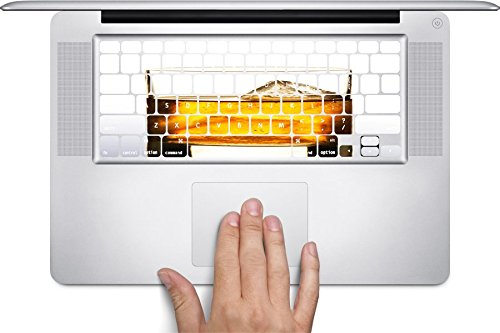 (Whiskey on the Rocks Macbook Keyboard Decals (Fits 13, 15 inch Air/Pro/Retina))