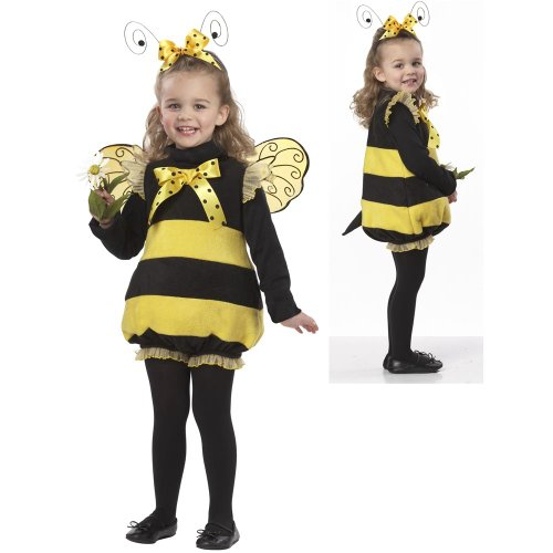 Bizzy Bugs - Bizzy Lil Bee Toddler Costume - Baby 18-24