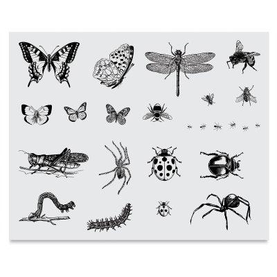 Mayco Designer Silk Screen, 12-1/2 x 18 Inches, Bugs