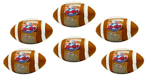 Football Pro-Ball Dubble Bubble Gum (6 Pack) Bundle