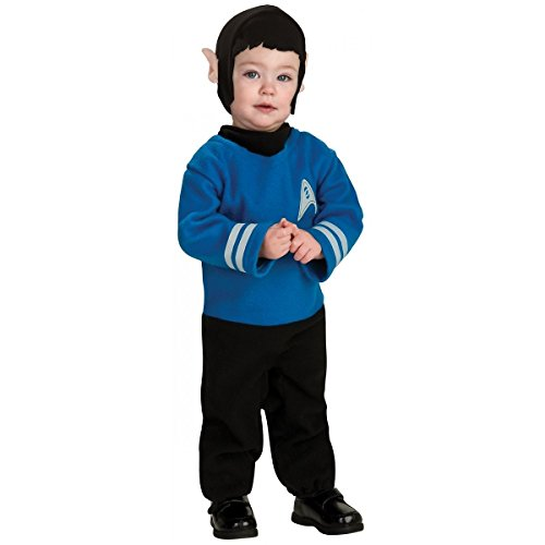 GSG Star Trek Movie Costume Baby-Newborn-Infant-Toddler Romper Halloween Dress