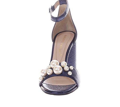 Aclaramiento De Bajo Coste Venta Barata De Compras En Línea Bruno Premi Donna Sandali Tacco R2603N Sandalo Una Fascia Perle da Donna Blu Gran Venta XWuAiNP