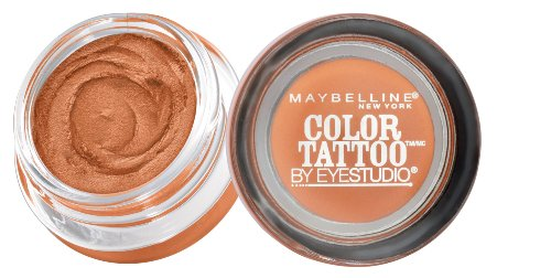 (Maybelline New York Eyestudio ColorTattoo Metal 24HR Cream Gel Eyeshadow, Fierce and Tangy, 0.14 oz.)