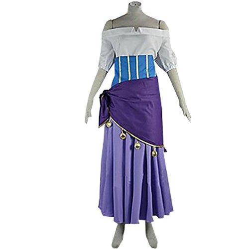 MYYH Anime Esmeralda Cosplay Dress Women Ball Gown