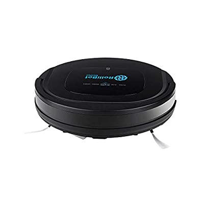 Rollibot Genius - The First automatic Robot Vacuum and Wet Mopping Cleaner for BOTH Carpet and Hardwood floors; Wi-Fi enabled (BL-800)